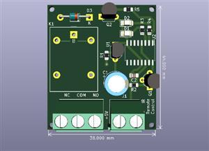 IR Remote CD4017