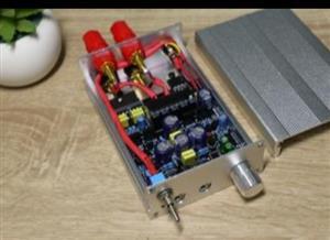 Desktop Amplifier TDA7297 With class A preamp