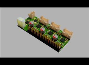Li-ion 4S, 3 stepper motor controller, Raspberry Pi autonomous on board supply and control.