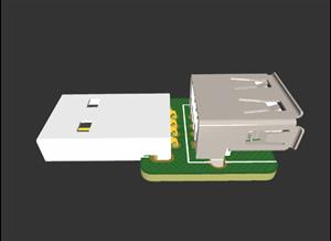 3D Printer USB Power Blocker