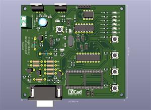 Programming and Development Board for PIC uC