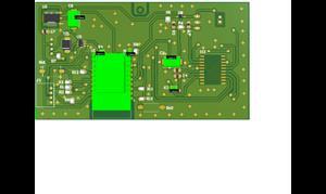 Daichi Haier WiFi board with 7 segment LED indicator REV-7