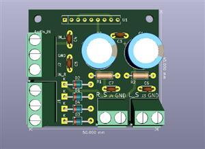TDA1521 Audio Amplifier