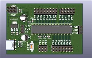 AVR128DA Dev Board