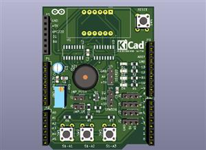 Learning Shield for Arduino Uno