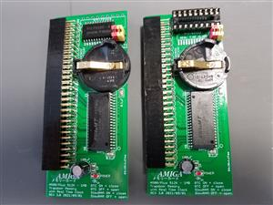 New Amiga 500 / Plus 0.5 / 1MB Memory and RTC Board THT / SMT