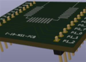 E-18 PCB board for developer