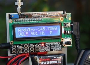 ArduTrx Open Source Hamradio Transceiver for Arduino