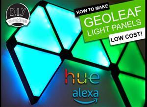 GeoLeaf - DIY Smart modular LED Light panels