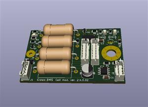 Green BMS Cell Module v.0.2