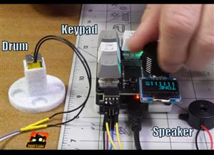 Mechanical Macro Keyboard Music Maker