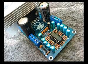 Amplifier Quad Bridge TDA7388 plus preamp