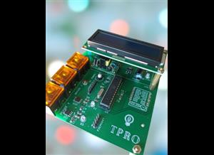 Design and execute sensor network for application monitoring the power.