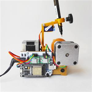 Eggbot Wifi ESP32 - Drawing Robot Plotter Pen
