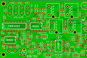 Mono Band SSB Transceiver with NE602 and 4053 TRX - Single Side Band 80/40M