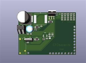 KiCad files an automotive LED flasher