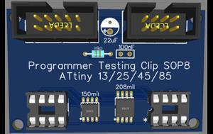 attiny 13/25/45/85 adapter