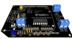 Bit-Duino_All_in_one_robotic_car_shield