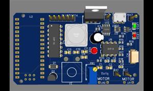 Bluetooth Car  PCB