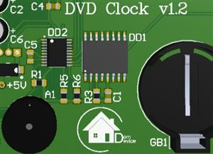Universal PCB for creating clocks and thermometers