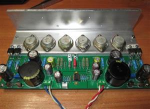Non FB germanium amplifier