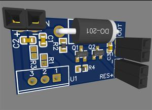 DC-DC converter with automatic transfer to standby power supply