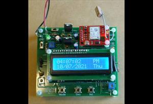GPS Clock and Armageddon Alarm