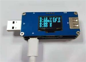 USB current and voltmeter