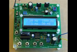 Audio Tone Burst Generator