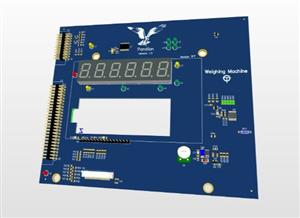 Display Module of High-End weighing system