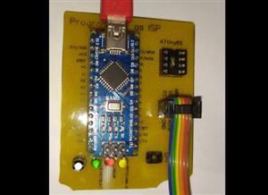Quemador as ISP con Arduino Nano, ATtiny 85, Bootloader