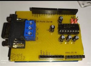 Construye tu shield RS-232 para Arduino UNO, Leonardo y Mega