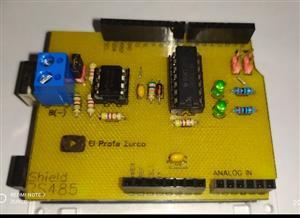 Construye tu Shield RS-485 con Arduino UNO, Leonardo y Mega