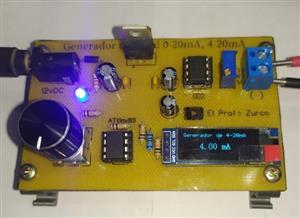 Construye tu generador de senal 4-20mA con ATtiny85