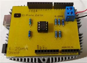 Construye tu Shield Conversor 4-20mA to 3.3v para Arduino, ESP32 y pico
