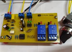 Construye tu micro PLC con ATtiny85 con sensor 220v AC, proyecto ATS