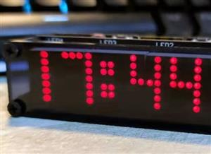 ESP8266 Matrix Clock (PCB (1 of 2))