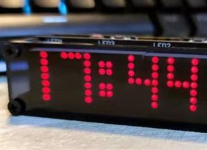 ESP8266 Matrix Clock (Main control board PCB (2 of 2))