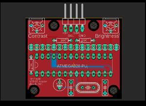 Universal LCD I2C adapter board